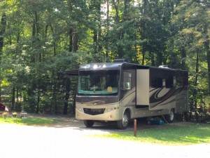 camping in laurel highlands pennsylvania