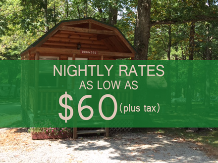 cabin rental rates