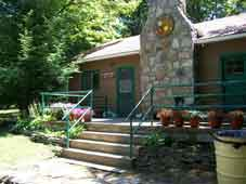 recreation at roaring run resort